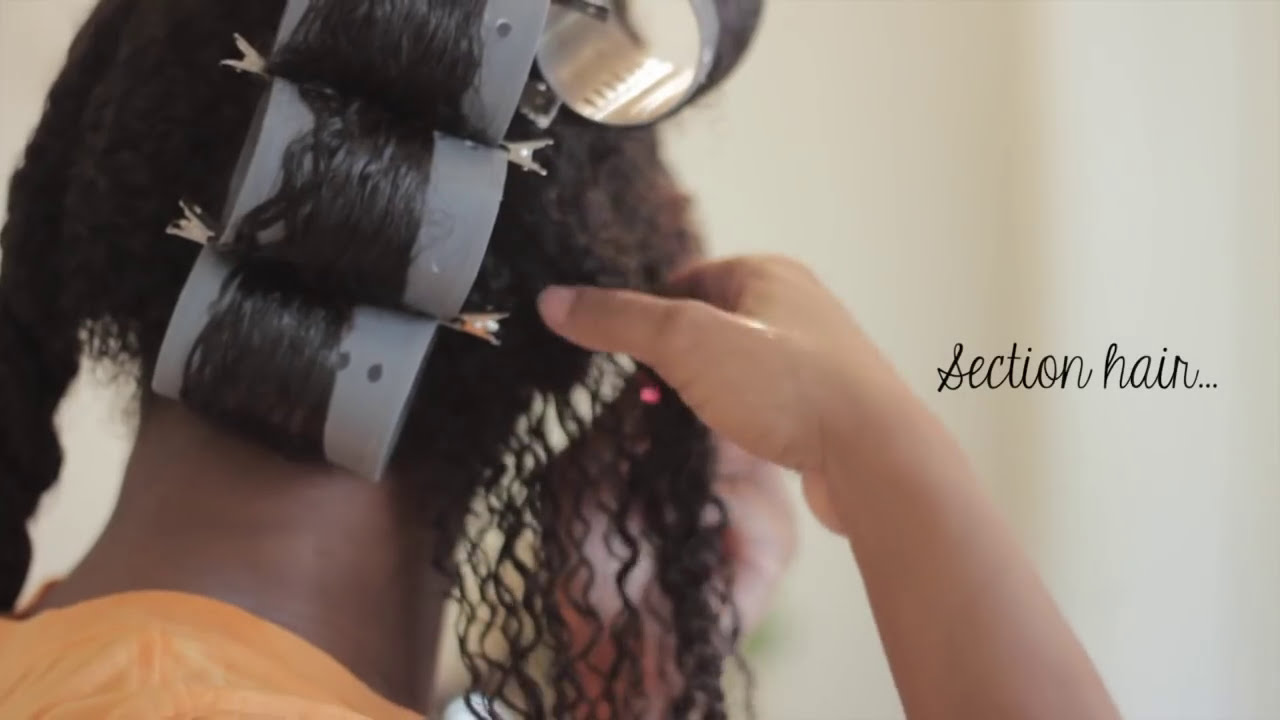 video how to use hot rollers
