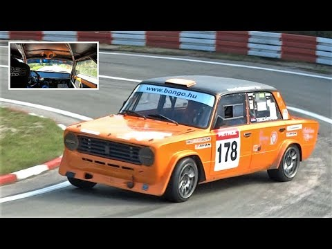9.200RPM LADA VAZ Race Car On The Limit !! || Onboard Buzet HillClimb 2018