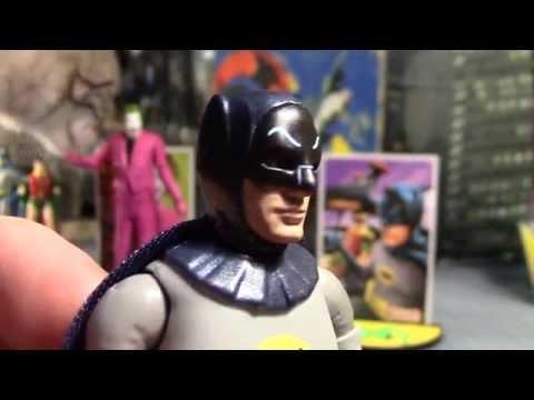 TOY REVIEW - Adam West BATMAN & ROBIN & JOKER Action Figures