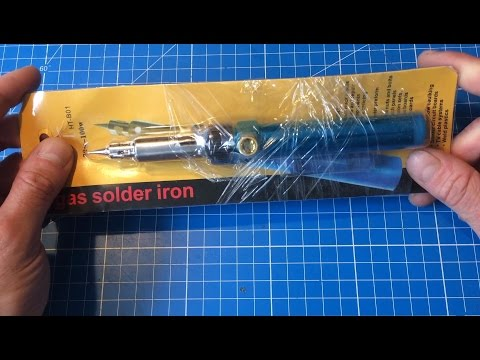 Cheapo Gas Soldering Iron Review