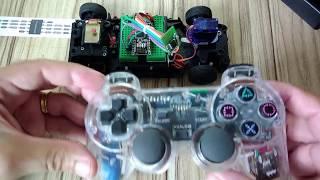 Arduino para controle de carrinho com controle PS2