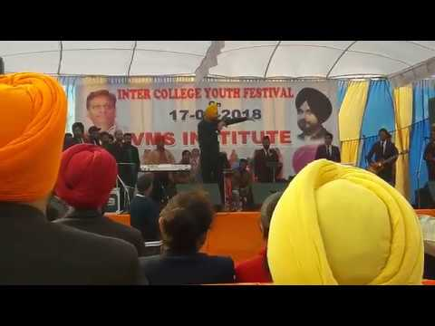 VMS COLLEGE BATALA || RANJIT BAWA LIVE PERFORMANCE || LATEST 17/01/2018||UPCOMING SONG IN LIVE || YT