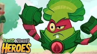 Plants vs. Zombies™ Heroes - Electronic Arts The Foe With the Furious Fists Level 3