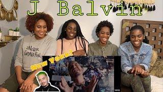 J Balvin Raggaeton Official Music Video Reaction