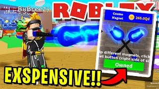 BUYING THE *NEW* BEST MAGNET & BEST SECRET PETS!! IN ROBLOX MAGNET SIMULATOR!! [UPDATE 14]
