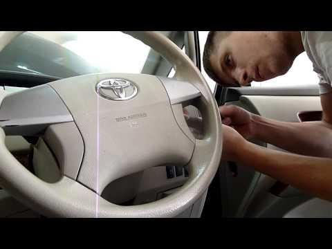 Toyota Estima Hybrid замена рулевой рейки