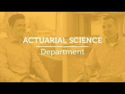 Actuarial Science : Bachelor's Degrees : Undergraduate