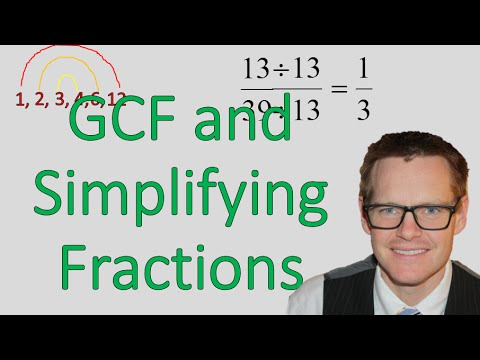 (6.NS.B.4)Using Greatest Common Factor to Simplify Fractions