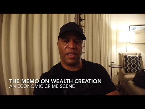 Memo On Wealth Creation