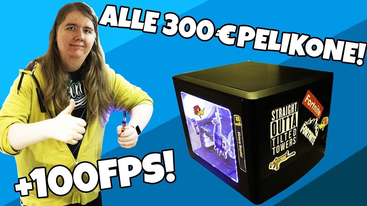 Kasataan alle 300€ pelitietokone! +100 FPS Fortnite, PUBG, CSGO!
