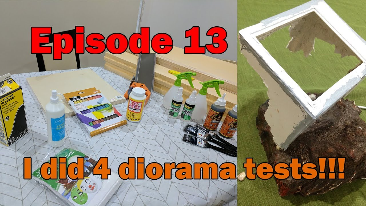 Road to the Gunpla Builders World Cup - Episode 13 Diorama Testing