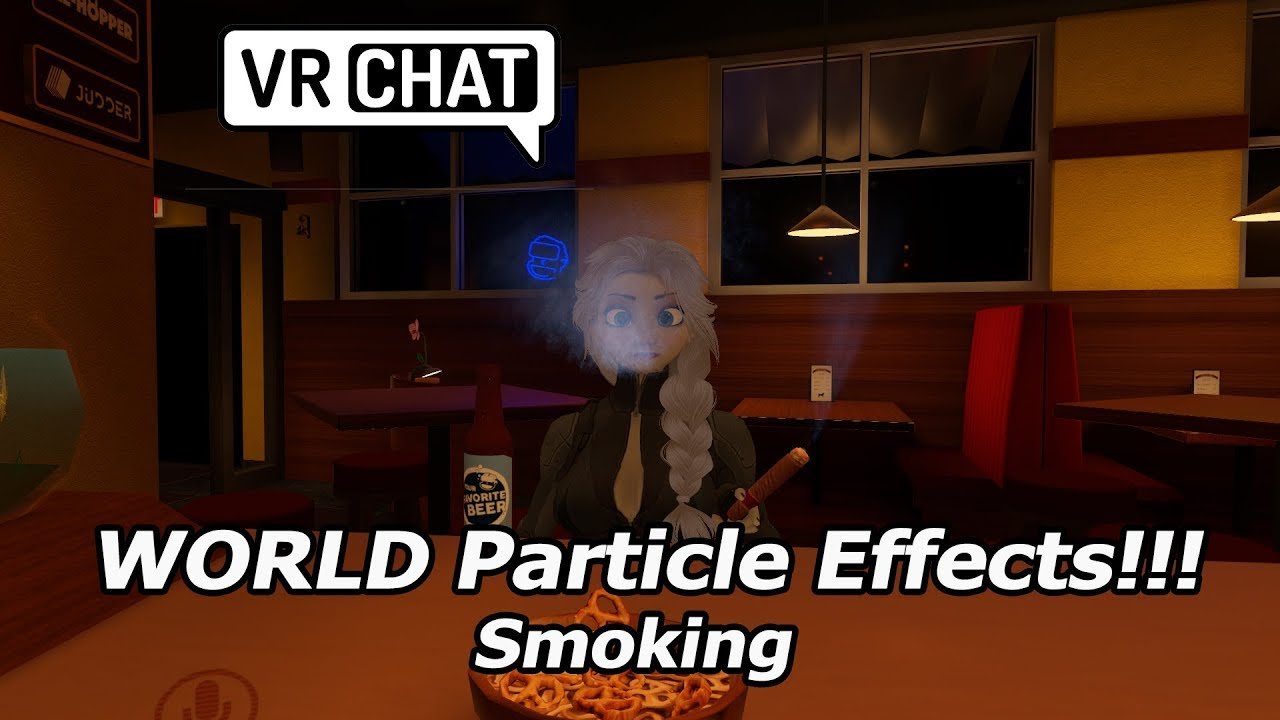 VRChat Smoking Particle Effects - World Space Tutorial