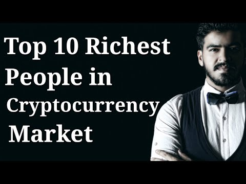 Top 10 Richest People in Cryptocurrency Market