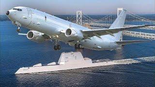 Самолёт США, которого боятся все корабли - Боинг П-8 Посейдон.