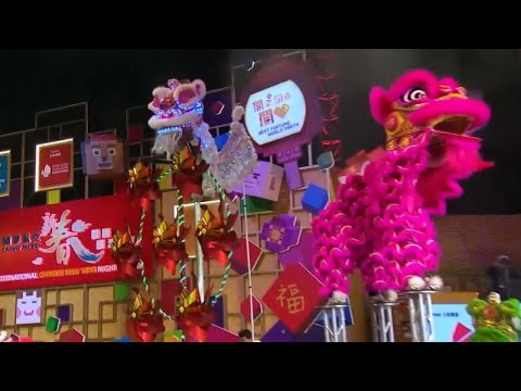 People Welcome 'The Year of the Dog' in Lunar New Year Festivities