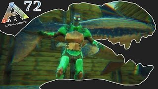ARK Survival Evolved Gameplay - Ep72 - Underwater Base Defence - Let's Play