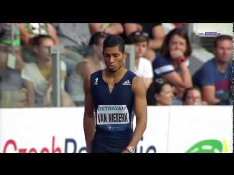 Wayde VAN NIEKERK RUNS 30.81 WORLD RECORD in Ostrava - Nuffin' Long Athletics