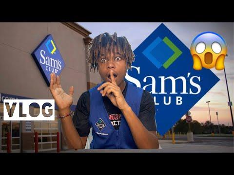 Life As A Sam's Club Employee🤫|Vlog
