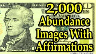 2,000 ★POWERFUL★ Money Images And Affirmations (these work) Attract Abundance, Wealth, Prosperity