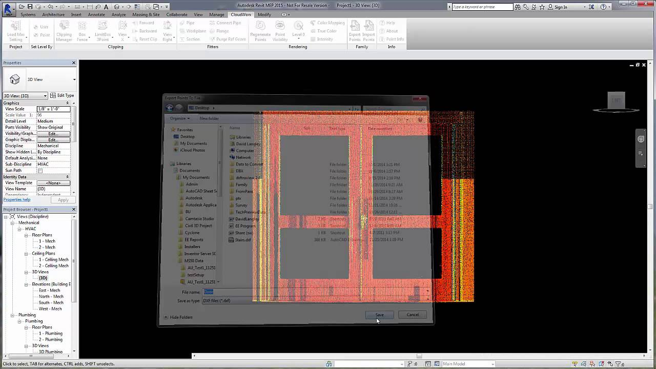 leica geosystems cloudworx for revit 1 1 export to family tool youtube rh youtube com