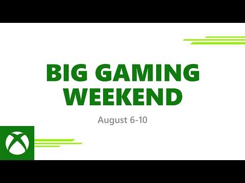 Big Gaming Weekend - Everyone Plays Free August 6-10, 2020
