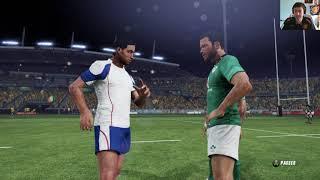 AUSTRALIE - IRLANDE : Rugby Challenge 3