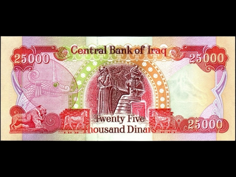 HISTORY OF IRAQI DINAR EXCHANGE RATE (Symbol IQD)