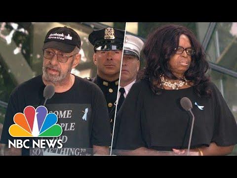 Name-Readers At 9/11 Ceremony Criticize Representative Ilhan Omar, Call For Gun Control | NBC News