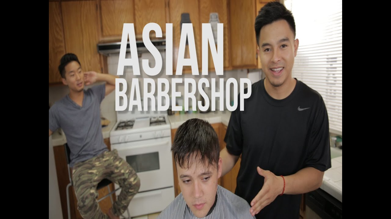 asian barbershop - different hairstyles feat. fung bros - youtube