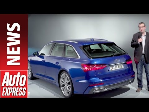 2018 Audi A6 Avant - first look at the new tech-fest exec estate