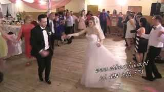 Świetne wesele, fajna zabawa, najlepszy zespół Quatro super młoda para