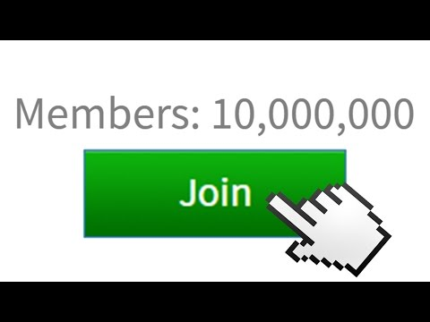 THE BIGGEST GROUP IN ROBLOX (MILLIONS OF MEMBERS)