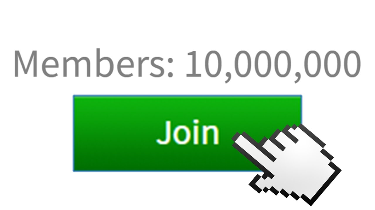 The Biggest Group In Roblox Millions Of Members Youtube