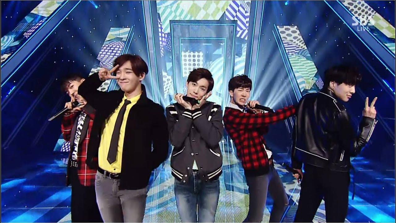 WINNER - '끼부리지마(Don't Flirt)' 1012 SBS Inkigayo - YouTube