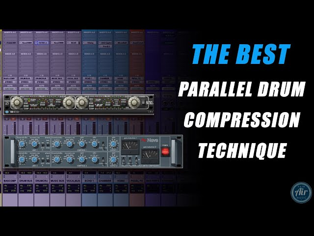 BEST PARALLEL DRUM COMPRESSION TECHNIQUE!