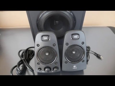 Logitech Z623 200 Watt Speakers REVIEW | BEST Computer SPEAKERS