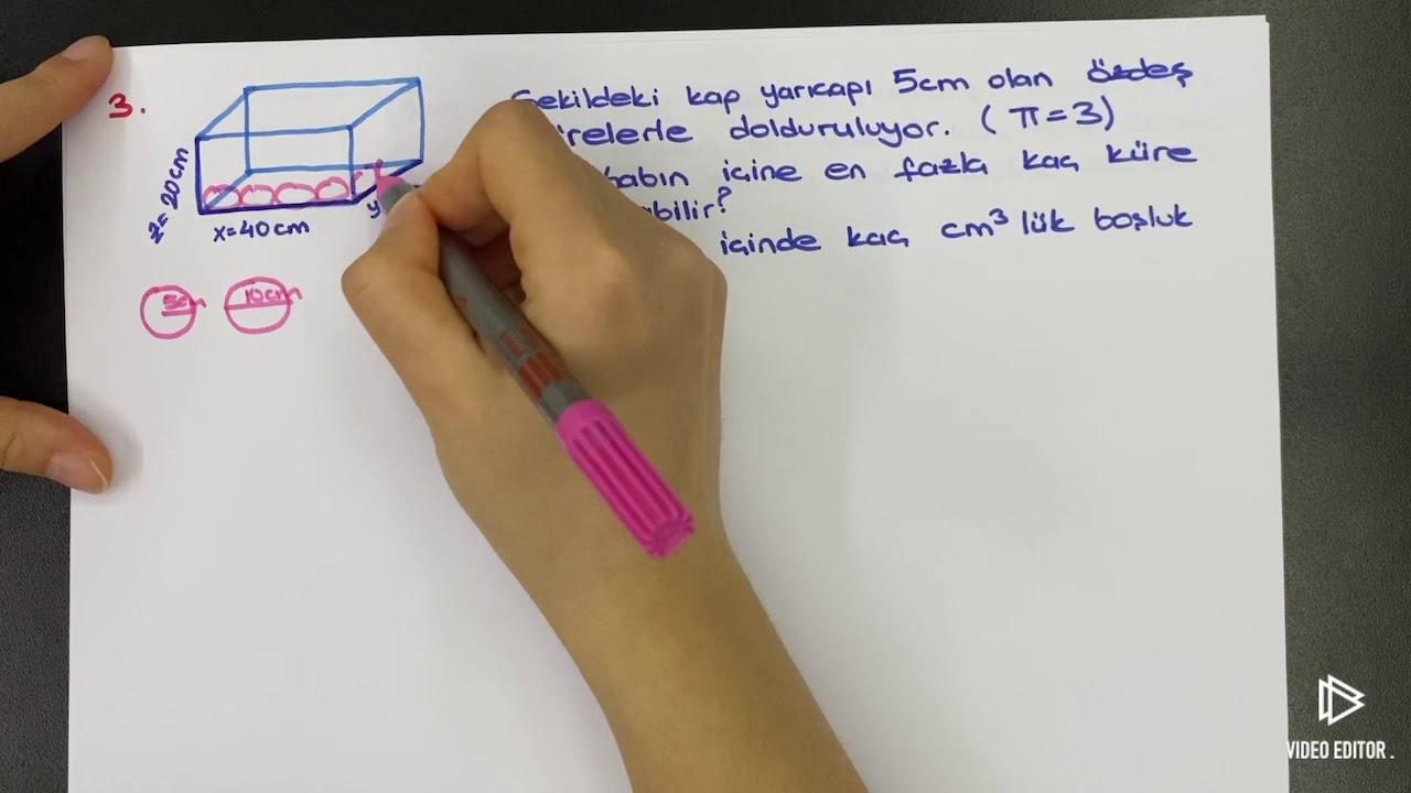 9.Sınıf Fizik Madde ve Özellikleri Kütle Hacim Soru Çözümü