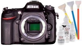 Sensor Cleaning Nikon DSLR DIY