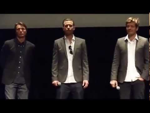 The Hunt Q & A at TIFF12 with Mads Mikkelsen and Thomas Vinterberg