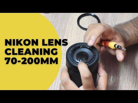 lens cleaning NIKON AF-P 70-300 mm VR ED