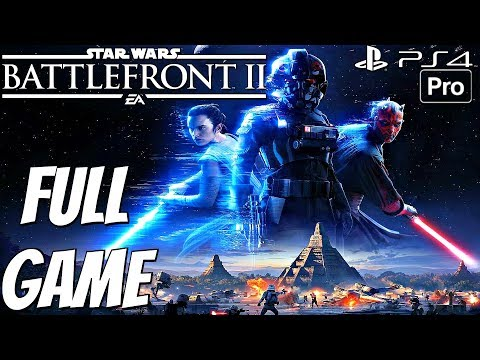 Star Wars Battlefront 2 - Gameplay Walkthrough Part 1 FULL GAME [1080p 60fps] Single Player Campaign