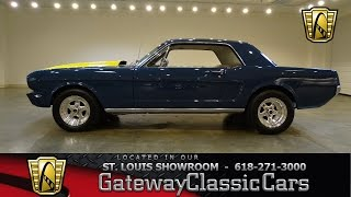 1966 Ford Mustang Stock #7159 Gateway Classic Cars St. Louis Showroom