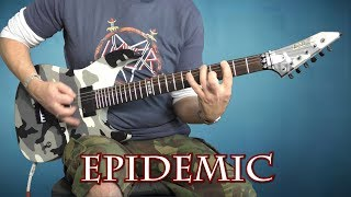 Slayer - Epidemic - guitar cover with solo