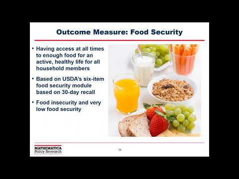 Initial Findings from the Nutrition Services Program Outcomes Evaluation