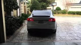 Tesla Model X Summon