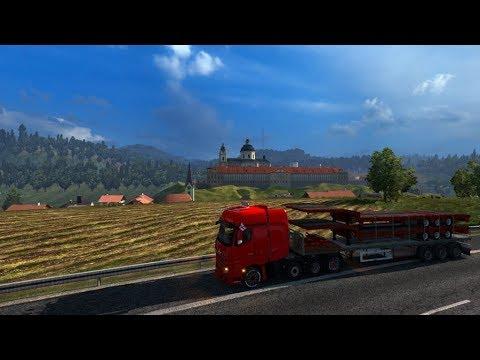 Stockholm (S) - Bordeaux (F). Euro Truck Simulator 2 Live Stream