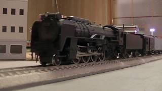【16番(HO)】D52(珊瑚)+貨車長大編成 Long freight train in 1960's.