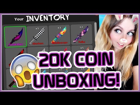 $20,000 COIN UNBOXING IN MMX! *1 GODLY & 10 LEGENDARIES*