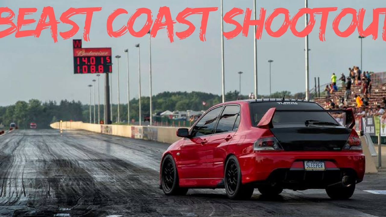 Beast Cost Shootout Evo 8 Roll Racing 750 Whp
