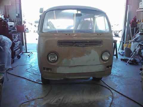 1969 vw bus restoration youtube. Black Bedroom Furniture Sets. Home Design Ideas